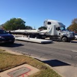 Traffic snarled on University Drive in front of @TAMU campus after truck loses load. http://t.co/xgyc8cEB5G http://t.co/8ZqII10TbN