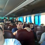 Sleepy bus ride after 5 games in the past 3 days in the Dominican Republic. #IlliniDR http://t.co/jmRHanOU0G