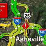 LANE CLOSED I-240 WB @ MM 4 in #Asheville due to a crash @WLOS_13 http://t.co/PjwhgzIF8N