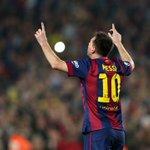 Con este gol Messi se convierte en el máximo goleador de la Liga de Campeones, con 72 dianas #FCBlive http://t.co/ZjrNbtf7eu