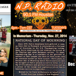 NP Radio 2nite! 6pm CST on 90.1 FM #Pacifica in #Houston or http://t.co/G345x1zSIs online #radio #Ayotzinapa http://t.co/kGi41OxpDf