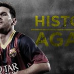 Lionel Messi keeps making history! Tips in a goal to become all-time leading scorer in Champions League history (72). http://t.co/ZXDl03PK0V
