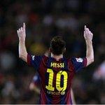 #ELSEÑORDELOSRÉCORDS Messi marca su gol 72 en Champions y supera a Raúl (71) como máximo goleador http://t.co/jzA5xUsqi6