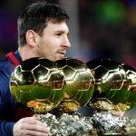 Lionel Messi (age 27). Top scorer of La Liga ✓ Top scorer of UCL ✓ Top scorer of Clásico ✓ Top scorer of Barcelona ✓ http://t.co/Y4TuDzhKtE