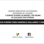 Marcelo Gallardo actual DT de river acaba de perder su madre en el día de hoy. Fuerza Gallardo. http://t.co/vNyrCzcdxV