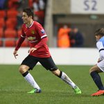 .@AnderHerrera scored in the Reserves 5-0 win against Blackburn in the Lancashire Senior Cup: http://t.co/rRlQ8xKLzX http://t.co/ElPrIsN8To