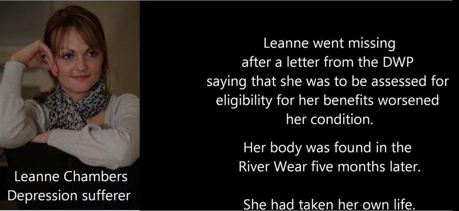 RT @RednorthUK: Leanne's body was found after a letter from the DWP https://t.co/gVQ9gOaCCK  Copeland