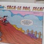 meu Deus o Mauricio de Sousa http://t.co/yduBlHofkD