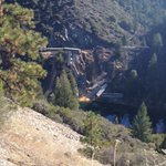 Assisting w/ derailment of 12 railroad cars in Feather River Canyon @USFSPlumas @CalSpillWatch Photo http://t.co/LrH00E0N4T