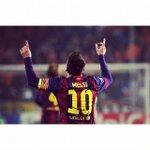 ¡Es un récord! ¡No! ¡Es un hat-trick! ¡No! Es más que eso ¡Es Messi en Champions League! http://t.co/qtp9oZleKD