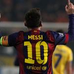1 Week 2 Hat-tricks 2 Records (@ChampionsLeague & @LaLiga top scorer) #Messi http://t.co/WpjB7gvKS8
