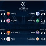 Another sensational night of #UCL football! Check out all the results and latest from Lisbon... http://t.co/uWsEM1ysxK