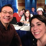 Answering weather questions with meteorology students from Metro on the air! #cowx http://t.co/Zi4ck7PfhH