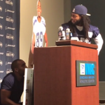 VIDEO: Richard Sherman and a Doug Baldwin cutout (voiced by Baldwin) blast the NFL's hypocrisy http://t.co/hyhiHUGkcS http://t.co/UxSwXEnEDK