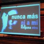 Conversatorio sobre los tipos de violencias #NiUnaMas #Tunja ni un solo caso de feminicidio. Centro de victimiología http://t.co/VzSihKyvua