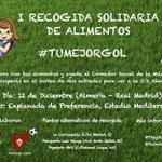 Amigos, difusión para la I Recogida Solidaria de Alimentos. Organizada por @TRojiblanca y @TwiterosUDA. http://t.co/dih0N3jX2w
