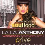 Atl come party with me 2morrow night at Prive! Thanksgiving Eve! Ladies free till 12 We shutting it down! @botcheyent