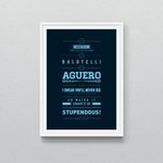 Im in a good mood after that so im giving away an Aguerooooo print. Just RT for a chance to WIN! #mcfc @MCFC http://t.co/M2tOGFQed6