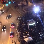 Big crowd at underground ATL at shut down Atlanta ferguson protest#fox5atl http://t.co/9gT3plkpRn