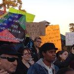 PHOTO — #Houstons post-#Ferguson demonstration #hounews http://t.co/5X51bOQhky