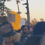 Demonstration in support of Mike Brown at MacGregor Park. http://t.co/85V1OXrZ52