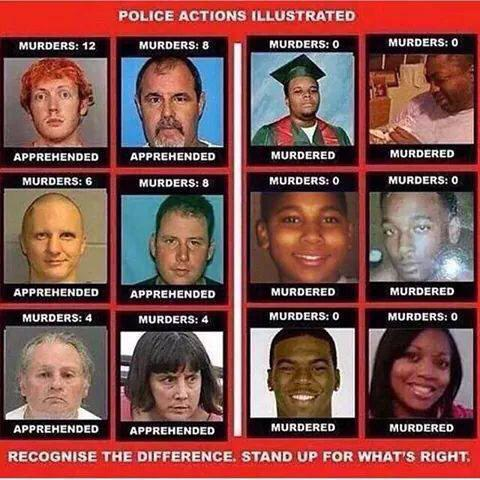 This is what many black Americans see and become increasingly infuriated! Change is needed! http://t.co/lZG23xhJ8f