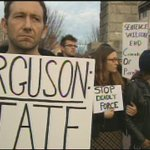 People in Downtown AVL protest against no indictment for officer Darren Wilson: http://t.co/CQD9sPQ3pE #LiveOnWLOS http://t.co/gRH43cDcxq
