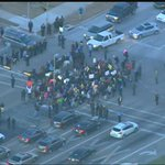 #Ferguson protesters are now blocking the intersection of Cullen & Old Spanish Trail in southeast #Houston.#khou http://t.co/kJ05I3KQnJ