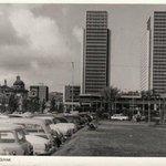 Centro Simón Bolívar y Avenida Bolívar, Caracas (Años 50) http://t.co/GeOQbfuRuj
