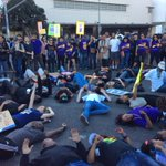 Rally in Crenshaw #LosAngeles #Ferguson http://t.co/K8RyFSZgOS http://t.co/MLFm5EiyKl via @jasmyne
