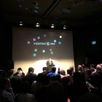 Its @ChorusNZ CEO Mark Ratcliffe launching the #gigatown announcement http://t.co/0CzQESUgMi