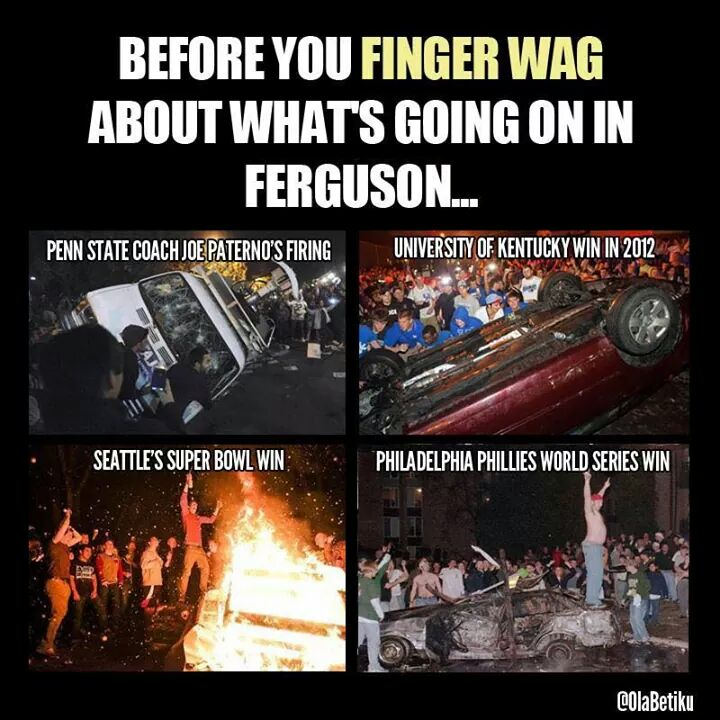 Before you preach to anybody about what's going on in #Ferguson... http://t.co/4xXythDiHY