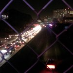 101 freeway backed up. #Ferguson #DTLA http://t.co/ZVGPD9eDAJ