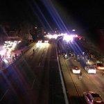 Demonstrators on the 101 freeway. #Ferguson #LA http://t.co/dk6uD9YfCo