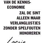 *ter ondersteuning van de kenniseconomie  zal Sint alleen maar  verlanglijstjes  zonder spelfouten honoreren* http://t.co/RGZ6Stj7k8