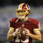 BREAKING NEWS: Colt McCoy to start for #Redskins on Sunday against Colts http://t.co/bRVzXlPhPR #NFL #RedskinsTalk http://t.co/GWlLnQ61vG
