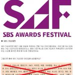 """「2014 SBS歌謡大典」のキムPD、""""今ネット上で回ってる出演者リストはデマだ。だまされないでほしい。キャスティングを完了して近いうちに発表する"""" http://t.co/WO85rcfW80 http://t.co/Z4qfdv6DLc"""