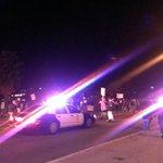 Police follow as protesters approach freeway. #DTLA http://t.co/r03uTf3Ayn