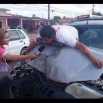 —¡¿Chocó?! —No, yo bajo así, pendeja. http://t.co/zDeXB42rzB