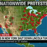 Protests in 37 states across the U.S. as addtl. National Guardsmen deploys in #Ferguson. http://t.co/OeNACkV8g4 @CNN http://t.co/NNBX8FAQwo