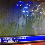 #BREAKING Protesters block the downtown connector, I-75/I-85 #protest #BreakingNews #Atlanta @FOX5Atlanta http://t.co/bDlaxkGVZv