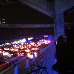 Ferguson protestors shut down I-75 last night. http://t.co/8bwmeKFpKs