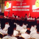 Opening speach by UMNO Youth PSU Dato @dmsahfri at the UMNO Youth General Assembly #PAU2014 http://t.co/txs98Mfqco