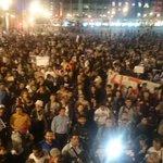 Miles y miles de compas hoy en el zócalo exigiendo #PresosPoliticosLibertad #TodosSomosCompas #YaMeCanse http://t.co/O2OGh2IRlq