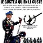 Nuevo comisionado de la @CNDH cumpliendo con SOLAPAR esta BARBÁRIE! #TodosSomosCompas #YaMeCanse #20NovMx http://t.co/hHxsgwmvbm