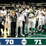 Final in Tampa: @USFMBB 71  |  Hofstra 70. Great effort at the end of the game.  #RunWithUs http://t.co/N04MrgQAPV