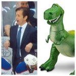 .@nielsonTSN1260 Dallas Eakins as a dinosaur. Thats right, hes not a very good dinosaur http://t.co/l3lIOJXGsk