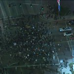 Protesters stopping in the middle of the intersection of Figueroa & Washington. #KTLA #Ferguson http://t.co/A9wC599K3F
