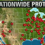 More than 130 protests had been planned around the U.S. on Tuesday, in more than 30 states: http://t.co/X5L4cZLDkm http://t.co/5pAwP6im6d