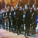 Show of force in #Atlanta as police work to disperse #protest @FOX5Atlanta #ATLFerguson http://t.co/WeQ09of58a
